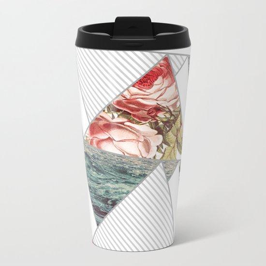 Sea roses Metal Travel Mug