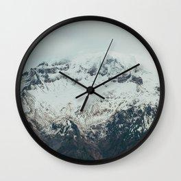 Mount Hood Peak Wall Clock
