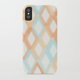 Soft Diamonds iPhone Case