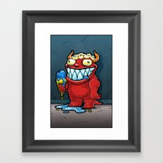Monster No. 1 Framed Art Print