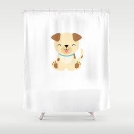 Dog Gift design Shower Curtain