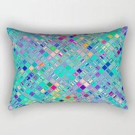 Re-Created  Mosaic No. FOURTEEN by Robert S. Lee Rectangular Pillow