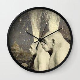 NEANDERTHALS Wall Clock
