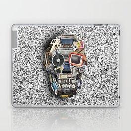 retro tech skull 5 Laptop & iPad Skin
