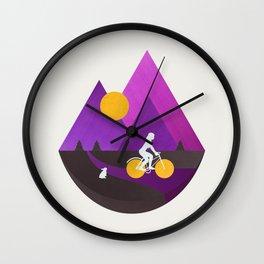 Bicycle Ride Wall Clock