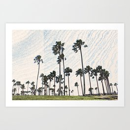 Th Venice Beach California Art Print