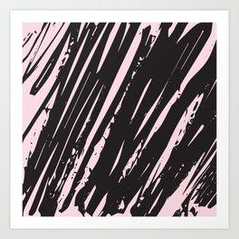 I spilled my chocolate! /geometric series Art Print