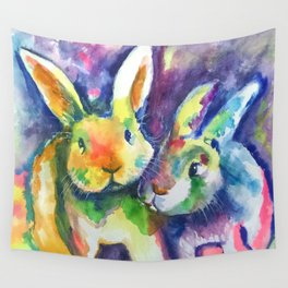 Bunny Pals Wall Tapestry