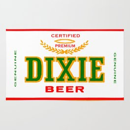 DIXIE BEER OF NEW ORLEANS Rug