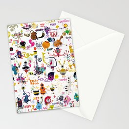 Music world Stationery Cards