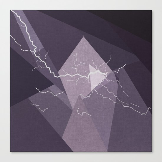 ABSTRACT STORM Canvas Print