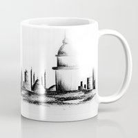 istanbul Mugs featuring İstanbul. by cidem