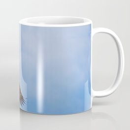 Young Bald Eagle in Flight Coffee Mug