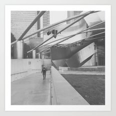 #chicago Art Print