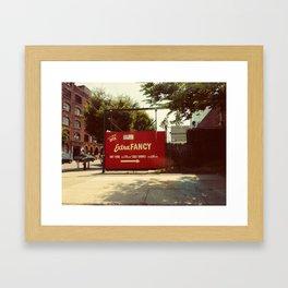 Extra Fancy- Williamsburg Brooklyn.  Framed Art Print