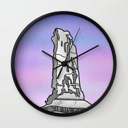Castle Rock Castleton Tower Wall Clock