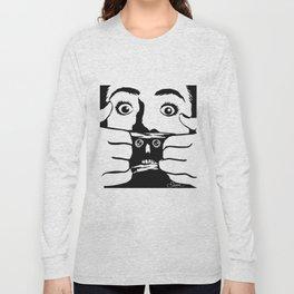BRAINDEAD aka DEAD ALIVE Collectible Beth Bacon Design no. 3 Long Sleeve T-shirt