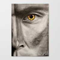 teen wolf Canvas Prints featuring Teen Wolf by Goolpia