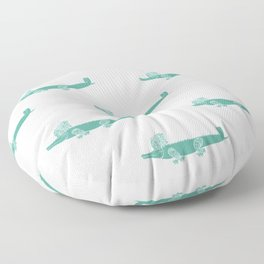 Croc Floor Pillow