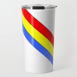 Flag of romania 4 -romania,romanian,balkan,bucharest,danube,romani,romana,bucuresti Travel Mug
