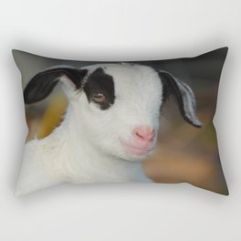 The Baby Goat Rectangular Pillow