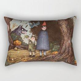 Near Death Rectangular Pillow