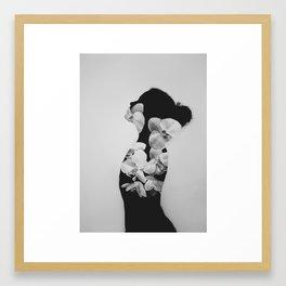 Liberation de la femme Framed Art Print