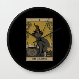 The Magician Wall Clock