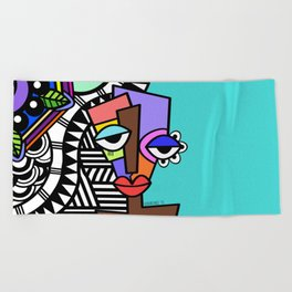 Artsy Beach Towel