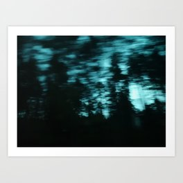 Dark Woods III Art Print