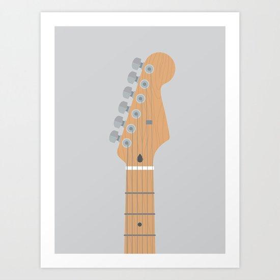 Guitar Heroes #5 - David Art Print