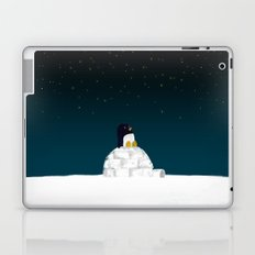 Star gazing - Penguin's dream of flying Laptop & iPad Skin