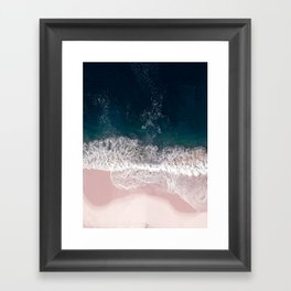 Sands of Pearly Pink Framed Art Print
