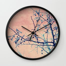 winter whispers Wall Clock