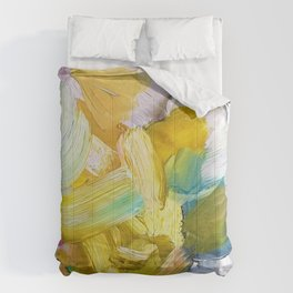 Lots of Feelings Abstract Painting Comforters