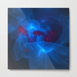 Into the Ether Metal Print