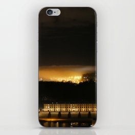 Captured and Claimed Light by the City at Night iPhone Skin