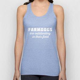 Outstanding Farmdogs Unisex Tank Top