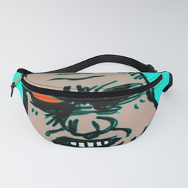 Portrait Of The Average American  Fanny Pack