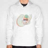 chill Hoodies featuring Chill by brocoli art print