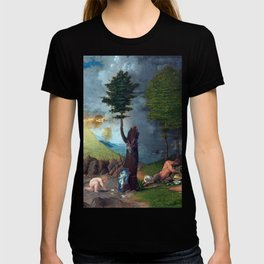 Lorenzo Lotto Allegory of Virtue and Vice T-shirt