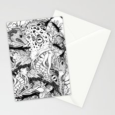Mr Lovercraft's monsters Stationery Cards