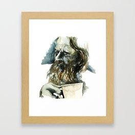 FACE#19 Framed Art Print