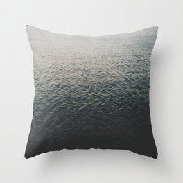 SLO waves Throw Pillow