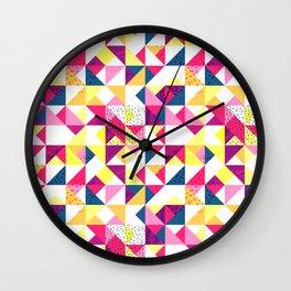Bright Geometric Revive Funky Wall Clock