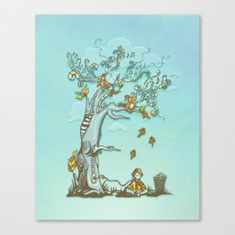 I Hear Music in Everything Canvas Print