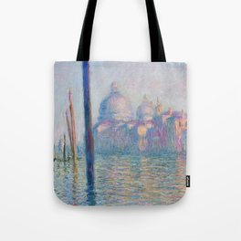 Le Grand Canal by Claude Monet Tote Bag