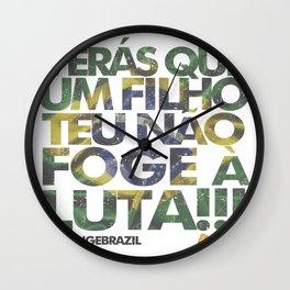 #ChangeBrazil Wall Clock