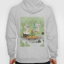 Fast as the rabbit Hoody