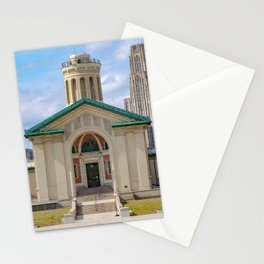 Carnegie Mellon Pitt Campus Print Stationery Cards
